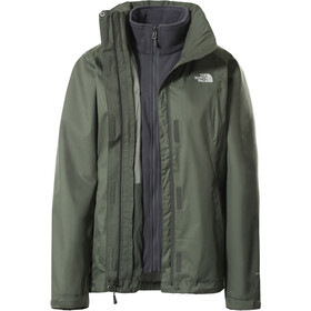 The North Face Evolve II Chaqueta Triclimate Mujer, Oliva